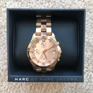 Marc Jacob Rose Gold Watch